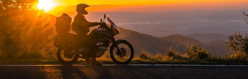 Motorcyclist_Silhouette_With_Sunset